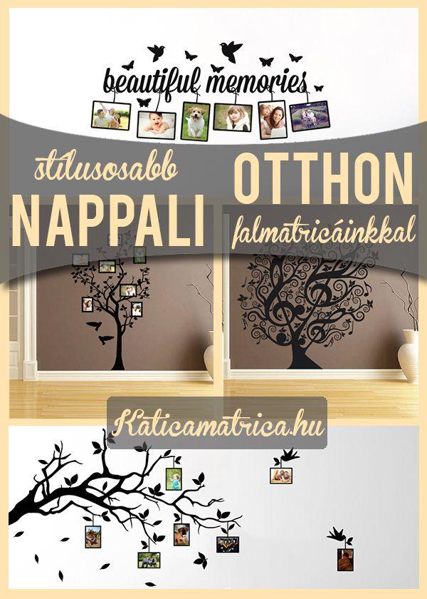 Falmatricák nappali díszítéshez - http://katicamatrica.hu/