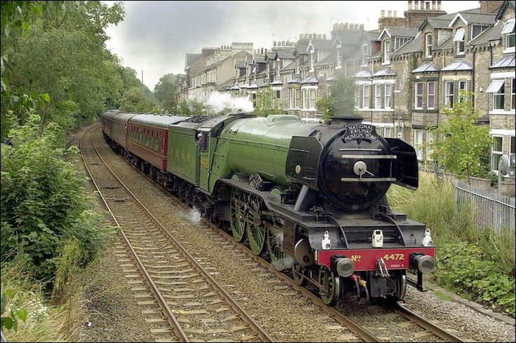 In January 2009 The National Railway Museum launched an appeal to put the legendary Flying Scotsman back into steam. Description from news.bbc.co.uk. I searched for this on bing.com/images