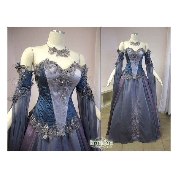 Medieval Wedding Dress Pattern Laced Corset Bridal Gown: Medieval Style Dresses & Corsets Liked On Polyvore....can