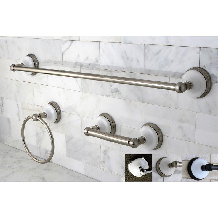 Victorian 3-piece Bathroom Accessory Set
