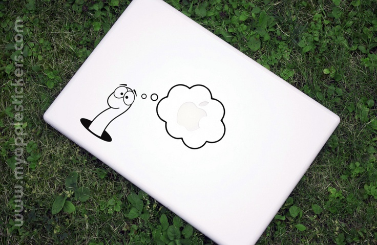 myapplestickers.com - I Am Craving for Apple - Stickers & Decals for Mac computers or iPad