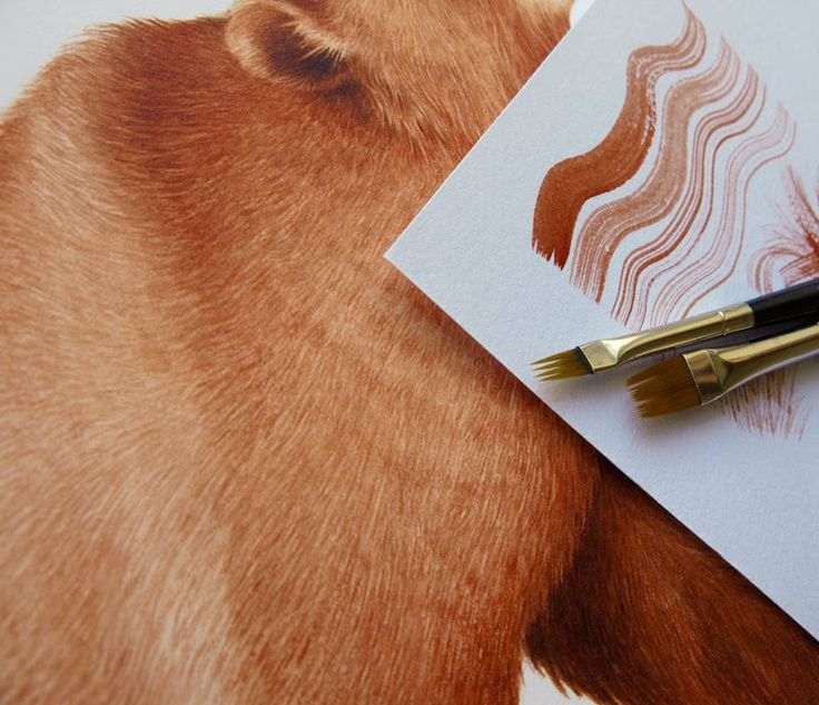 [Tips] Painting Furs Quickly with Comber Brushes by Eunike Nugroho (you might have to scroll down the page of her blog)