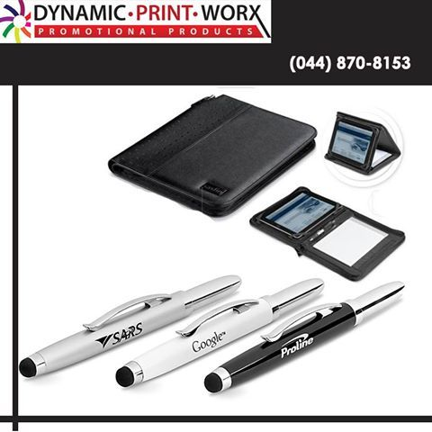 Stage 2 of our May Promotion at Dynamic Print Worx. Place an order and pay for R7000.00 worth of any products during this month and this Tablet Stand/folder and a Stylus pen could be yours. (Unbranded) #promotions #brandeditems #brandbuilding