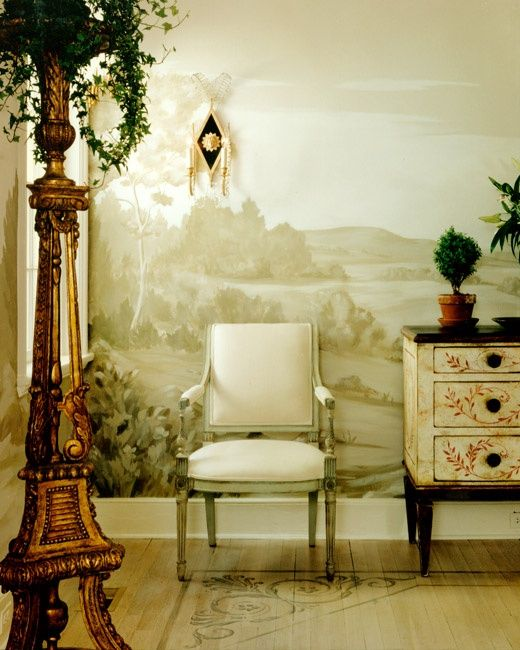 24 best grisaille images on pinterest wall murals wall - Grisaille wallpaper ...