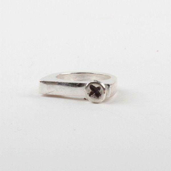 X Stacker Ring - Black | DARKBLACK $190 NZD