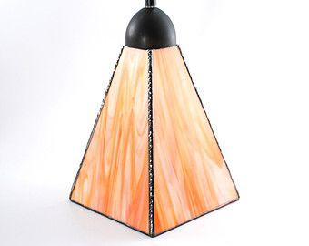 Iluminación colgante de vidrio, cortina de cristal, isla de cocina luz, moderna decoración, techo, lámpara colgante, naranja y blanco