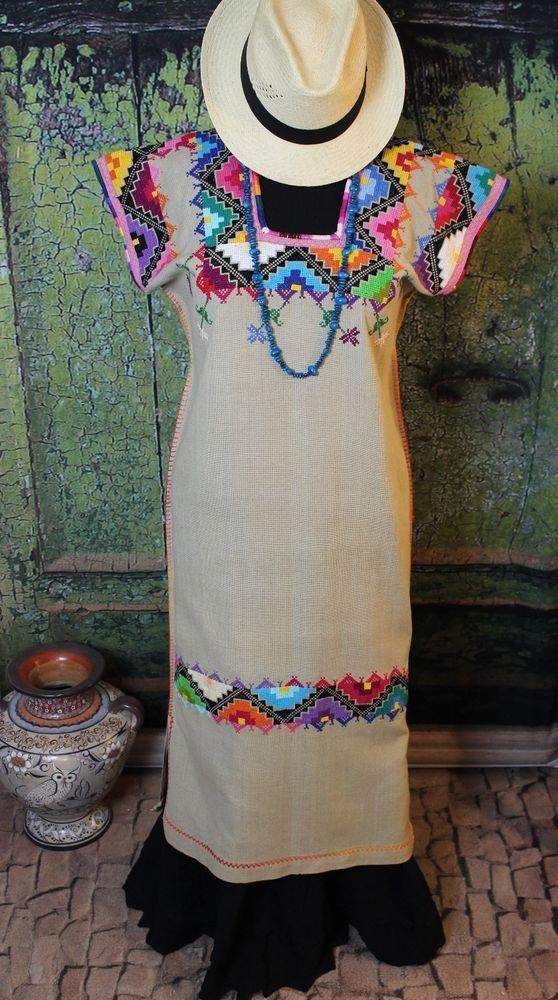 e7e12e3b06 RESERVED FOR ilansofe-0 Medium Multi-Color Geometric Michoacan Huanengo  Dress
