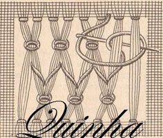 BAINHAS ABERTAS DA QUINHA: Toalha e gráficos de bainhas abertas