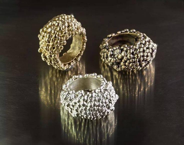 Rivisitazione della Fede Sarda Granulata - Sardinian Wedding Ring Revised