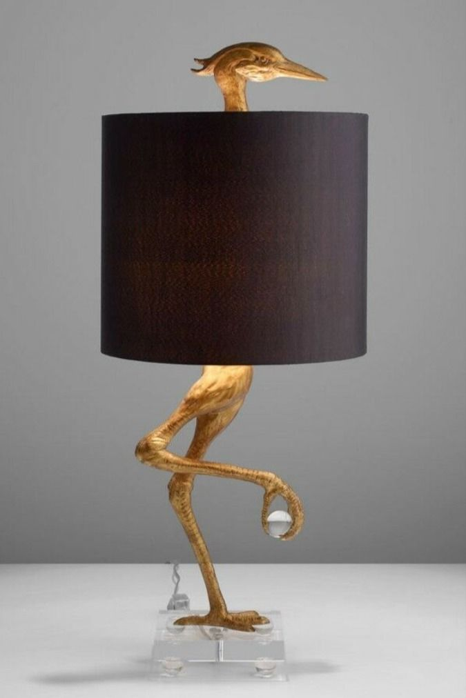 Ibis Table Lamps Heron Crane Bird Whimsical Table Lamp 35 H Cyan Design Set Of 2 Ebay In 2021 Table Lamp Lamp Vintage Industrial Lighting