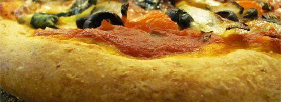 Sund og grov pizzadej