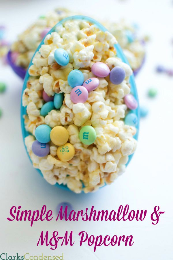 53 best easter popcorn images on pinterest easter food easter mm and marshmallow popcorn an easy recipe that is really yummy and negle Gallery