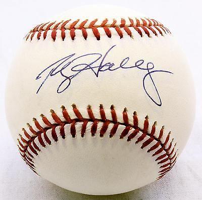 Roy Halladay Autographed Baseball