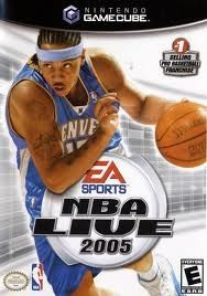 NBA Live 2005 - GameCube Game