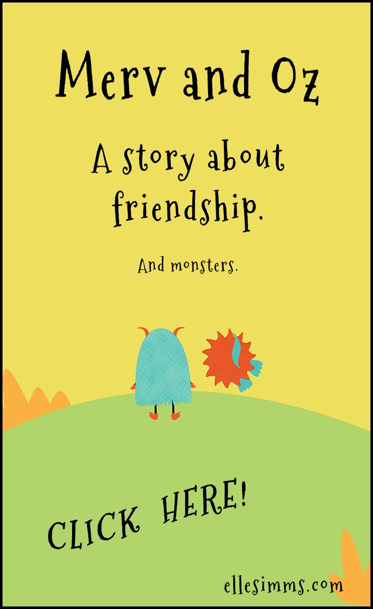 A cute monster story about friendship. For kids 0-4.