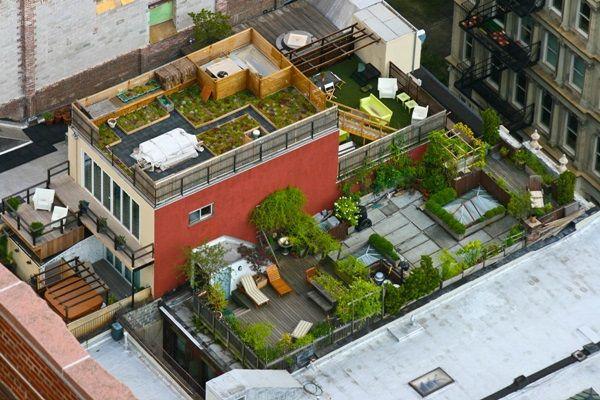 Panoráma zöldben: impozáns nagyvárosi tetőkertek | Életszépítők