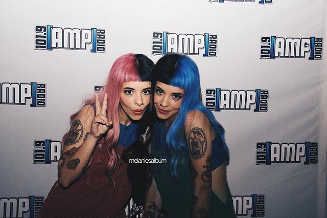 Melanie with a fan! comment if this looks real, i wanna know!❤️ for everyone who is confused i made it - - [ #littlebodybigheart #crybaby #melaniemartinez ]