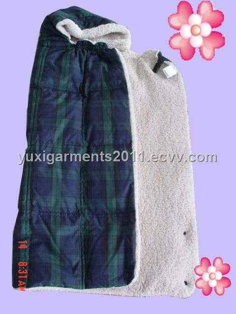 baby's wrap quilt/coat - China baby's wrap quilt/coat