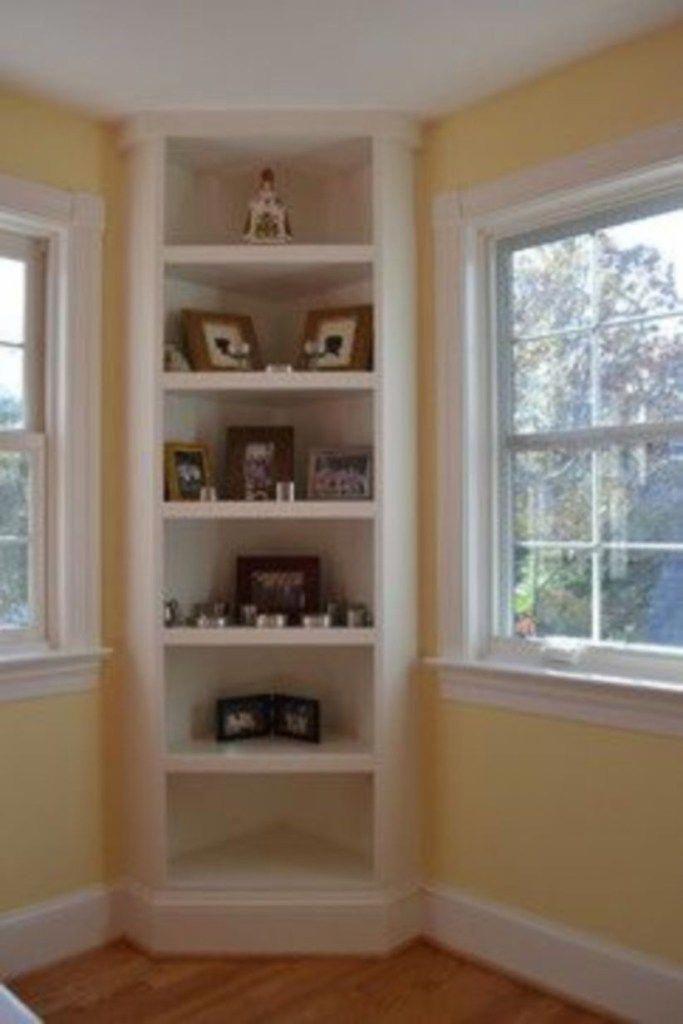 10 Genius Corner Storage Ideas To Upgrade Your Space Corner Storage Living Room Shelves Home