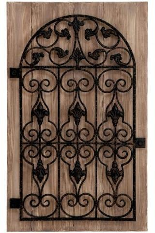 Garden Gate Wall Decor 16 best potential gate project images on pinterest