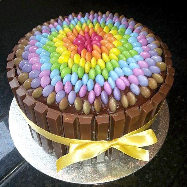 Шоколадный торт из готовых коржей