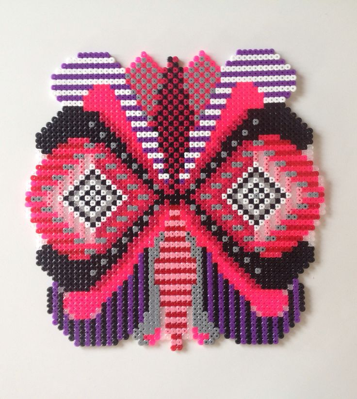 Hama perler bead art by Sara Seir