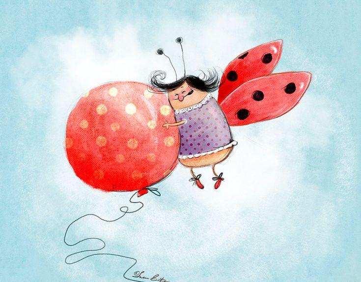Воздушный шарик смешные картинки