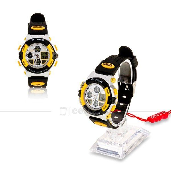 OTAGE #Sports #Waterproof Wrist #Watch #Multifunctional Dual Time Display #Stopwatch #otage