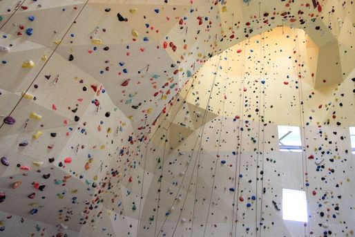 ONL's Climbing Wall System wins the Wood Innovation Award 2012 | News | Archinect