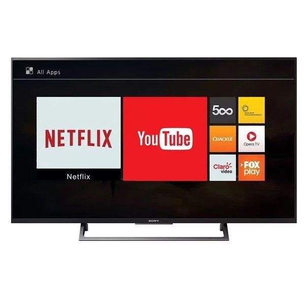 cool Smart TV Led 49 ´ Sony KD - 49X705E Ultra HD 4K Conversor Digital Integrado 3 HDMI 3 USB Wi - Fi