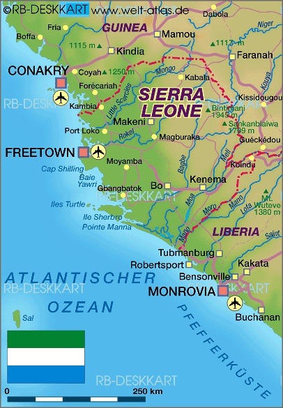 sierra leone freetown - bo