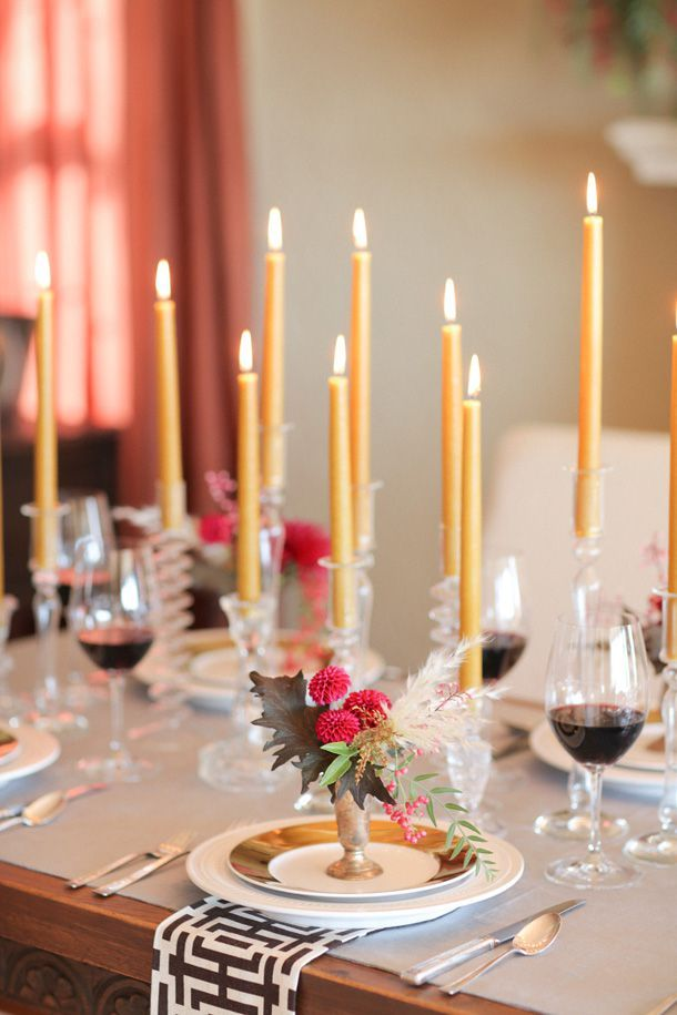 Our Favorite Decor Ideas To Take Your Thanksgiving Celebration To The Next Level Thanksgiving Table Settings Thanksgiving Decorations Pink Christmas Decorations