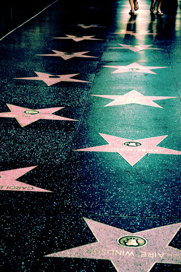 While in Hollywood I would like to go Walk of fame xxxx