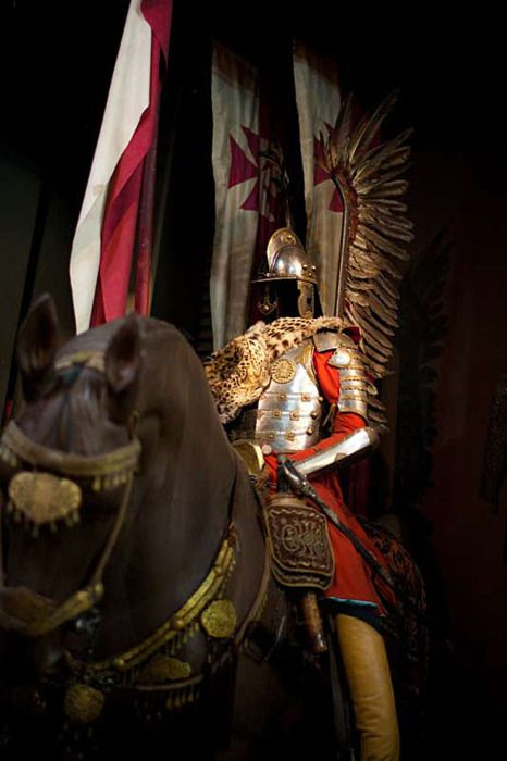 lunacylover:  Winged Hussars armor, Polish Army Museum in Warsaw.