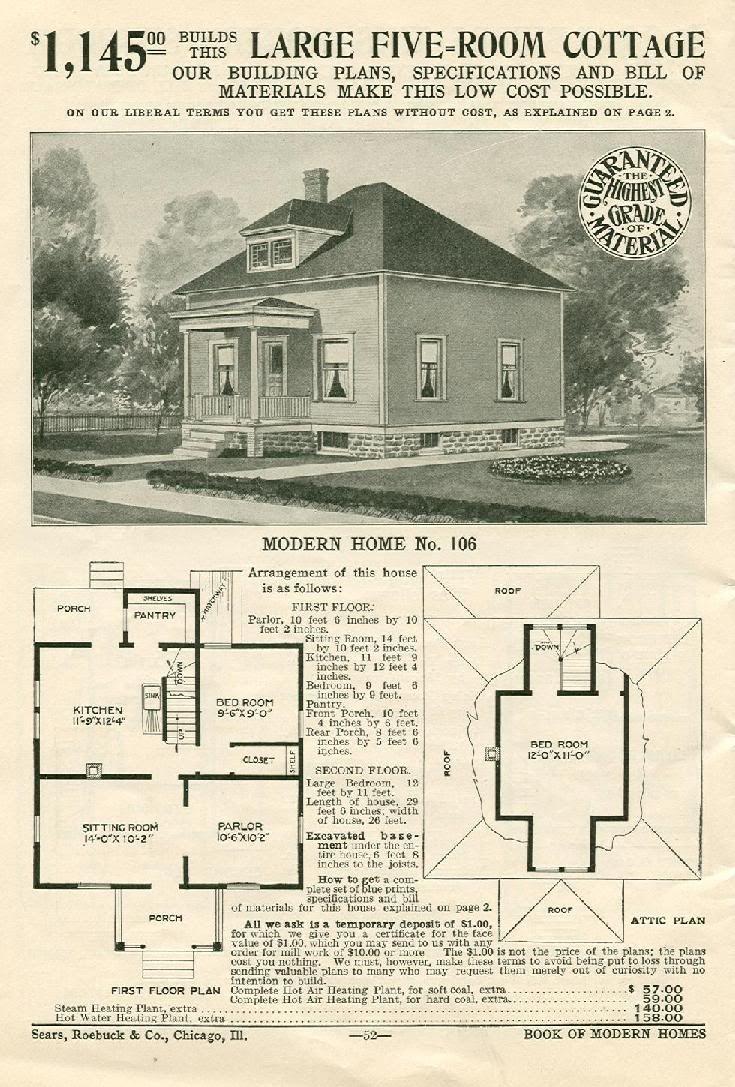 Beautiful 2 Story Bungalow Home - 5d6e8782c6f2fd9b93f55ec6f944b769--vintage-house-plans-floor-plans  You Should Have_997769.jpg