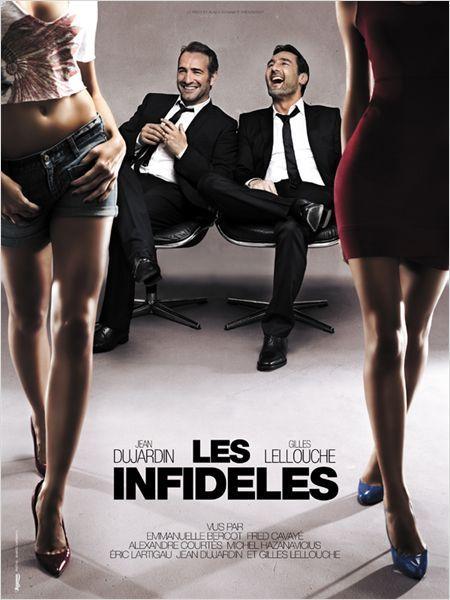 Les infidèles - Jean Dujardin, Gilles Lelouche, Emmanuelle Bercot, Fred Cavayé, Michel Hazanavicius, Eric Lartigau et Alexandre Courtès (2012).