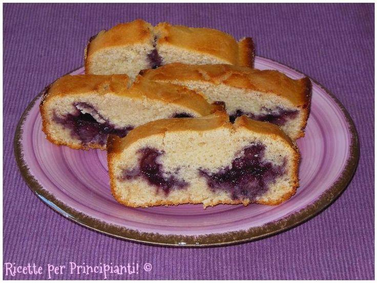 Ricette per Principianti!: Plumcake vegano farcito con marmellata