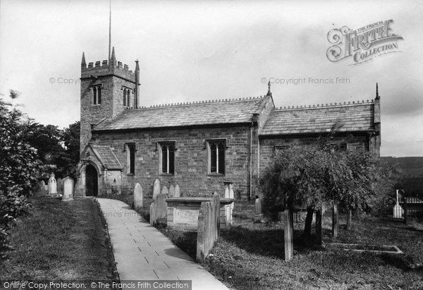 West Witton, St Bartholomew's Church 1911, from Francis Frith