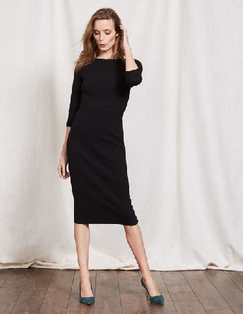 Boden Aurelia Ottoman Work Dress Black Women Boden, Youll love this figure-hugging below-the-knee dress as much as it loves your body. The seasons sexiest shape? http://www.MightGet.com/january-2017-13/boden-aurelia-ottoman-work-dress-black-women-boden-.asp