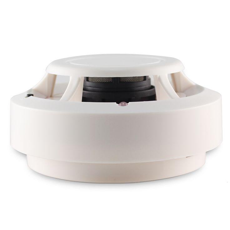 Envío Gratis 1 unids Inalámbrico Fotoeléctrico detector de Humo Detector de Incendios para el Sistema de Marcado Automático de Alarma de Seguridad Inalámbrica Doméstica Sensor de Smog