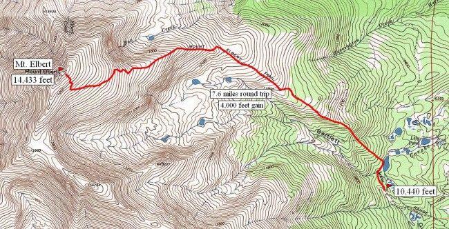 South Mt. Elbert Trail : Climbing, Hiking & Mountaineering : SummitPost