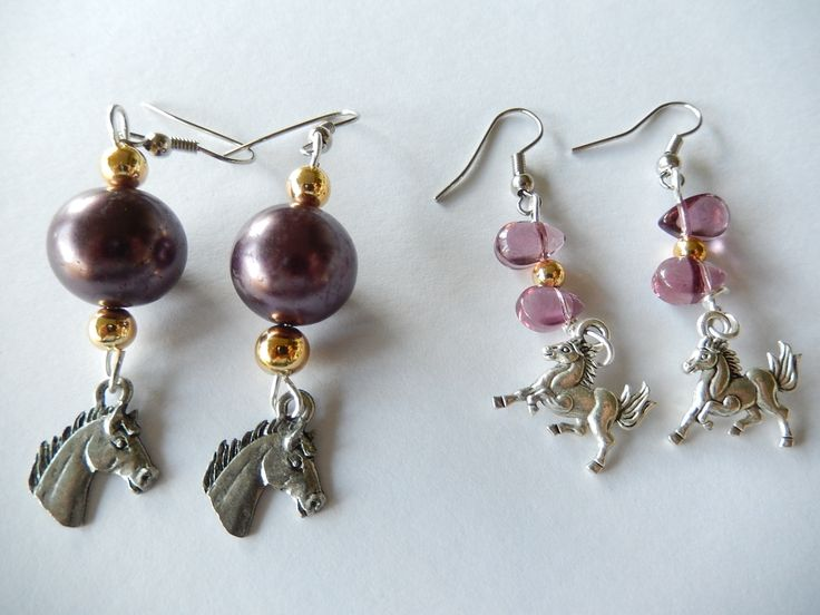 NRL: Brisbane Broncos earrings, available at Bobeaglejangles eBay store.
