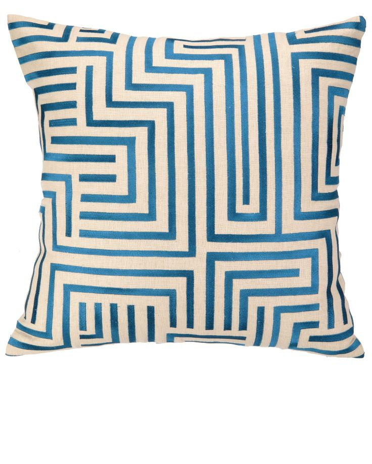 9 Best Images About Blue Pillows On Pinterest Embroidery