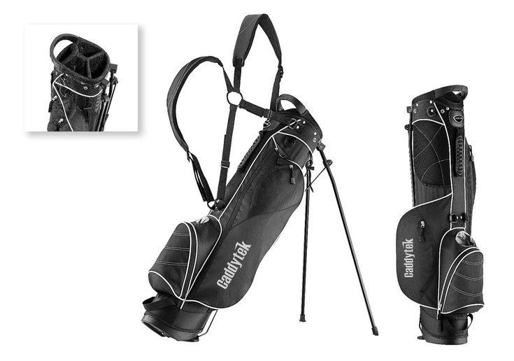CaddyTek Sunday Golf Bag with Stand, CaddyLite 3.5 Black #CaddyTek #SundayStandBag