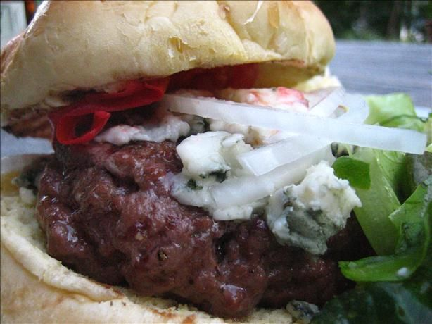 Red, White and Blue Burgers | Recipe