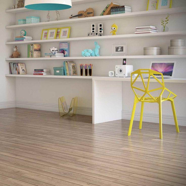 Quer um piso que é mais fácil para limpar? Aposte no piso vinílico, tanto a instalação quanto a limpeza são tranquilas! ;) #Prod31565