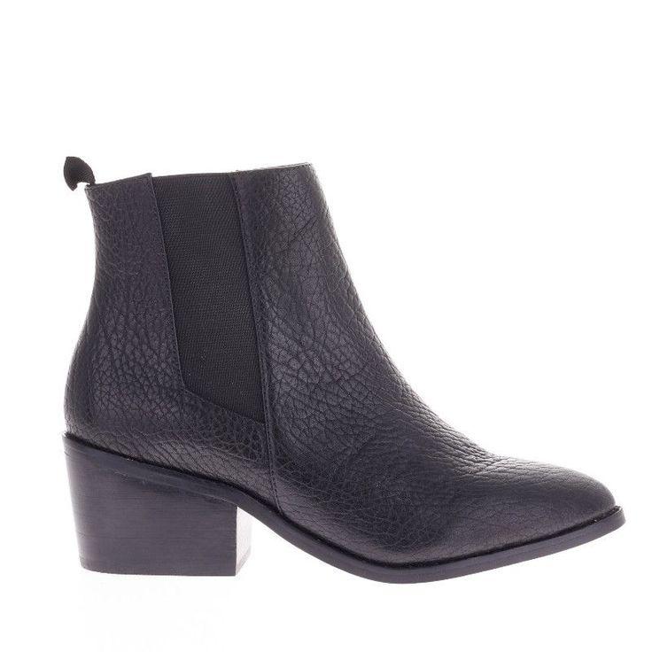 SOLSANA - Sol Sana Edger Boot - Elephant Black Leather