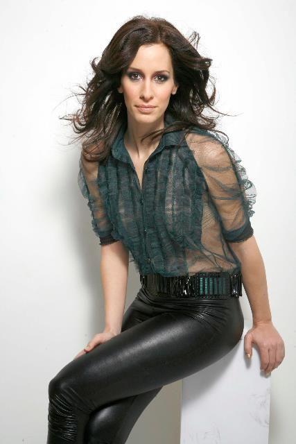Demcs 225 K Zsuzsa For Elite Magazine Fashion Leather Pants