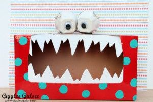 """Great tips for making a Tattle Monster for kiddos to """"report"""" to."""