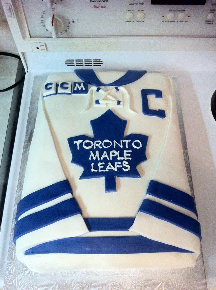 Daniel S Toronto Maple Leaf Jersey Cake Baking Ideas